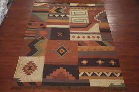 10x12 patchwork jute kilim area rug