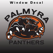 Palmyra Panthers Window Decal Design It Apparel