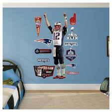 New England Patriots Tom Brady Fathead Wall Decal Set Target