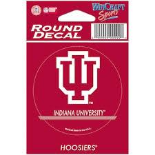 Indiana Car Decals Indiana Hoosiers Bumper Stickers Decals Fanatics