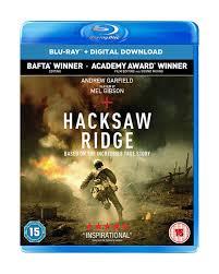 Hacksaw Ridge [Blu-ray] [2017] | The incredible true story ...