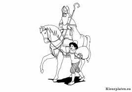 Paard Van Sinterklaas Kleurplaten Kleurplaten Eu