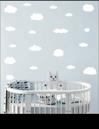 Cloud Wall Decals Stickers Nursery Wall Decor Whimsidecals
