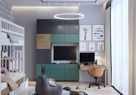 Green And Grey Kids Room Decor Awesome Decors