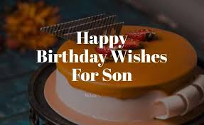 60 birthday wishes for son happy