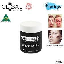 global colours liquid latex 45ml for