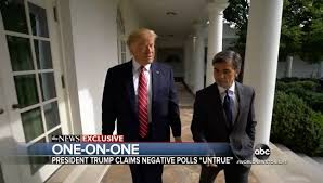One on One with President Trump and George Stephanopoulos | www ...