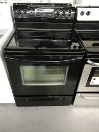 black electric stove glen burnie used