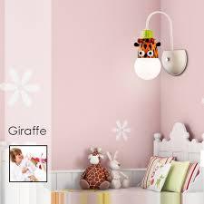 Buy Cartoon Giraffe Led Wall Light Kids Bedroom Kindergarten In Stock Ships Today