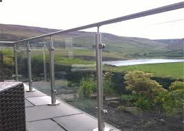 glass railing systems mirror