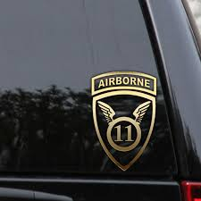 Us Army 11th Airborne Division Decal Sticker Veteran Car Truck Window Laptop