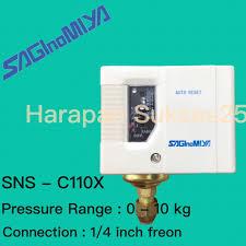 pressure control saginomiya sns c110x