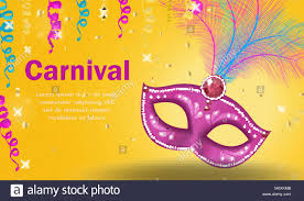 Carnaval Brillante Cartel Invitacion Tarjeta De Felicitacion