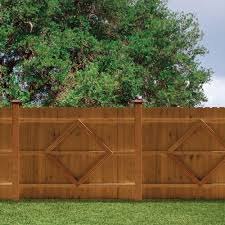 Https Images Homedepot Static Com Productimages 3a046ef0 E292 482f 81c7 Dcbf8f523b8b Svn Medium Brown Wood Outdoor In 2020 Fence Panels Outdoor Essentials Wood Fence