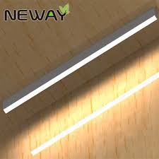 led suspended linear light fixtures