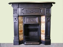 victorian fireplaces tiled dated 1892