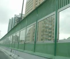 China Aluminium Highway Metal Acoustic Noise Sound Barrier Fence China Sound Barrier Sound Insulation