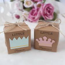Compre 10 Unids Princesa Bolsas De Regalo De Papel Cajas De Dulces