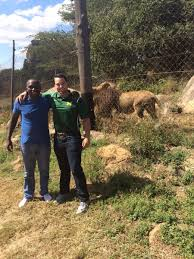 """NMU Football on Twitter: """"NMU Football Student-Athlete Aaron Rochow  enjoying some wildlife as he spends time in Zimbabwe this summer conducting  a research project!… https://t.co/OsH5f0KZU9"""""""