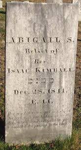 Abigail Stevens Kimball (1797-1841) - Find A Grave Memorial