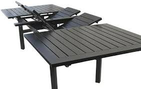 extendable outdoor patio table