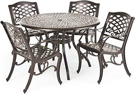 hallandale outdoor furniture dining set