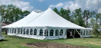 60ft. x 90ft. Rope & Pole Event Tent Rental in Iowa, Illinois, Missouri +  Wisconsin | Genesis