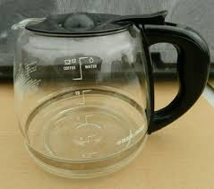 replacement glass coffee carafe black