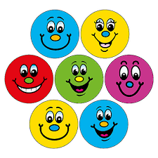 Happy Face Stickers | 20mm | Pick a Pack Size | Brainwaves