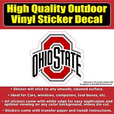 Ohio State Buckeyes Football Vinyl Car Window Laptop Bumper Sticker De Colorado Sticker