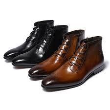 fashion design genuine leather men