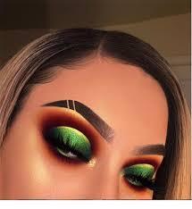 green eyeshadow makeup ideas