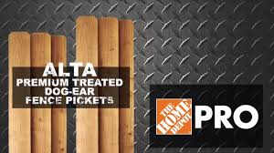 Premium Treated Dog Ear Fence Picket Weekly Videos Pro Xtra At The Home Depot