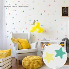 Geometry Colorful Wall Stickers For Kid Diy Stickers Kids Room Decoration Cartoon Sticker Decorative Sticker Home Decor Bedroom Wall Transfers Best Wall Decals From Yiyu Hg 3 54 Dhgate Com