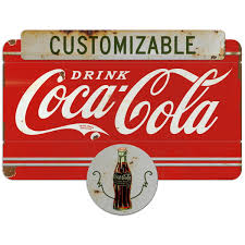 Coca Cola Distressed Plaque Style Wall Decal Vintage Style Kitchen Decals Stickers Collectibles Sidra Hospital
