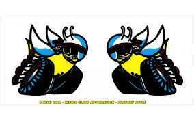 Graphic Express 1970 Dodge Scat Pack Window Bee Decal Set 2 Tall Inside Application
