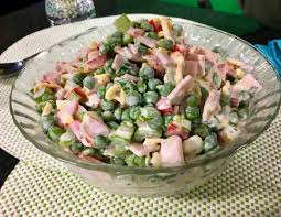 sweet pea canadian bacon salad recipe