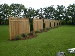 Fence As Wind Break Google Search Wind Break Backyard Fences Outdoor Privacy