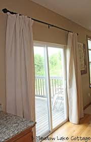 sliding back door curtains to replace