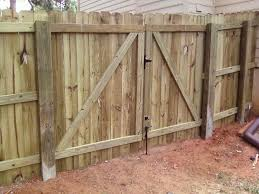 Fence Gates Building Gate For Wood Fence