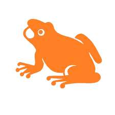 Collectibles Made In Usa 6 X 3 High Quality Vinyl Peace Frogs Orange Frog Sticker Other Frog Collectibles