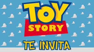 Invitacion Animada De Toy Story Youtube