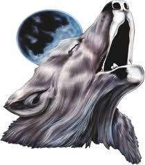 Howling Wolf Hood Decal Xtreme Digital Graphix