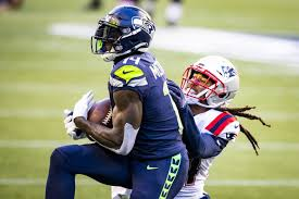 In a battle of 'warriors,' Seahawks receiver DK Metcalf makes a statement  vs. Patriots' Stephon Gilmore | The Seattle Times