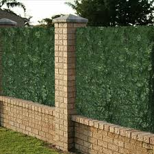 Artificial Faux Ivy Leaf Privacy Fence Screen Cover Home Panels Wall Gate Hedge Ebay