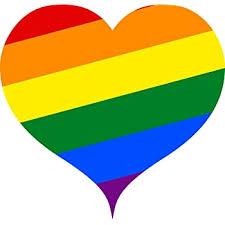 Amazon Com Rogue River Tactical 4 Pack Rainbow Flag Heart Car Decal Bumper Sticker Gay Pride Lgbt Gay Lesbian Bisexual Transgender Support Heart Automotive