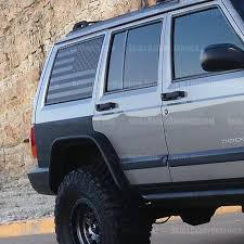 Xj U S A Window Flags To Fit Jeep Cherokee 1987 2001 Etsy