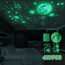 Children S Bedroom Glow In The Dark Decor Wall Stickers Art For Sale In Stock Ebay