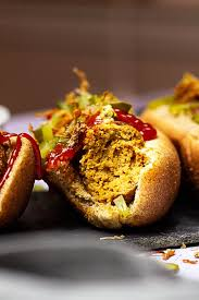homemade vegan seitan hot dogs ve eat