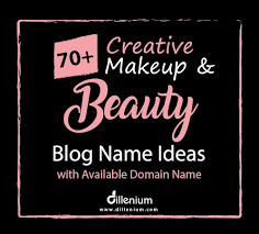 beauty name ideas with domain names